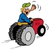 Работа вахтой трактористом